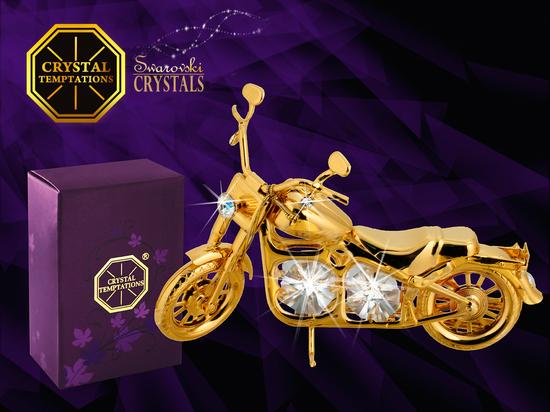 Motocykl - products with Swarovski Crystals