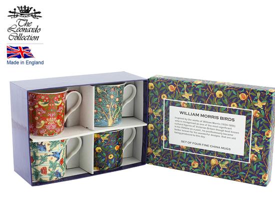 Kpl. 4 kubków - William Morris