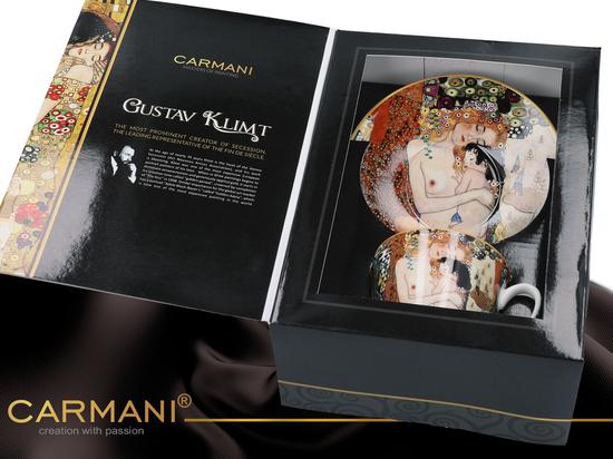 Filiżanka + spodek - G. Klimt, Macierzyństwo