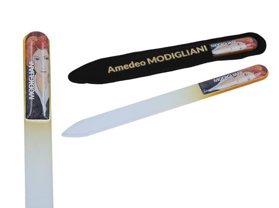 Szklany pilniczek do paznokci - A. Modigliani (CARMANI)