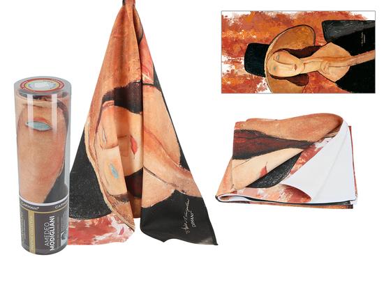 Ręcznik (mały) - A. Modigliani, Kobieta w kapeluszu (CARMANI)