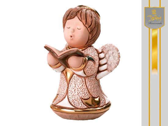 Aniołek z książką - biały