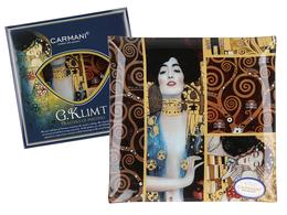 Talerz dekoracyjny - G. Klimt, Adela 25x25cm