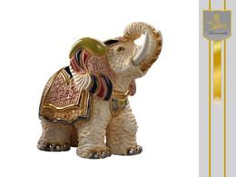 Biały słoń indyjski
