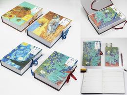 Zestaw piśmienniczy - V.Van Gogh (planer. długopis kolorowy i taśma klejąca ozdobna)